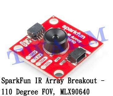 r)(現貨)原廠Qwiic IR Array模組110度FOV MLX90640熱像儀(SEN-14843)