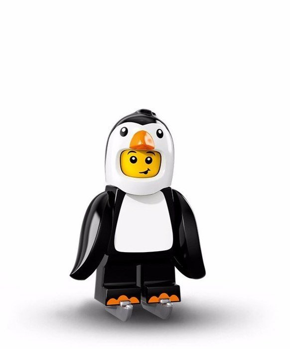 現貨【LEGO 樂高】美國正品 積木/ Minifigures人偶包系列: 16代 71013 單一人偶: 企鵝人