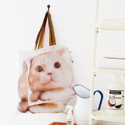 Felissimo 貓部 龍馬君 日本製 托特包式洗衣袋 (日本官網代購款)