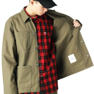 uniform experiment SS21 DRIPPING COVERALL JACKET 兩色