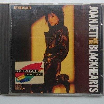 Joan Jett 瓊傑特 - 黑心合唱團 : Up Your Alley 西德版 MADE IN GERMANY 寶麗金發行