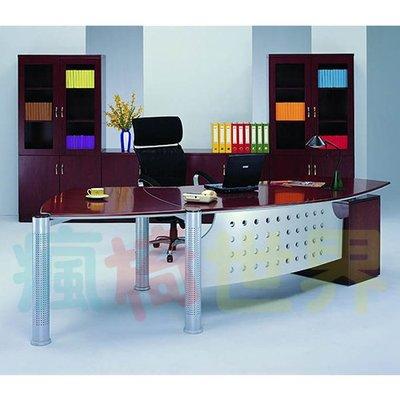 《瘋椅世界》OA辦公家具全系列 高級木製主管桌 EN-289 (董事長桌/老闆桌/辦公桌/工作桌)