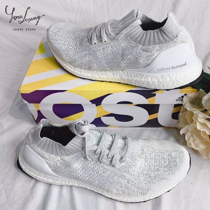 【Luxury】Adidas Ultra Boost Uncaged 白灰 雪花 DA9157 男女鞋 情侶鞋 韓國代購