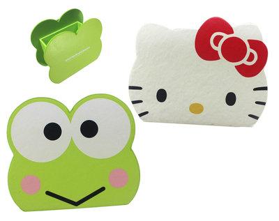 【卡漫迷】 三麗鷗 仿皮 手機座 二選一 ㊣版 筆筒 造型 置物 Hello Kitty 大眼蛙 Keroppi 可洛比