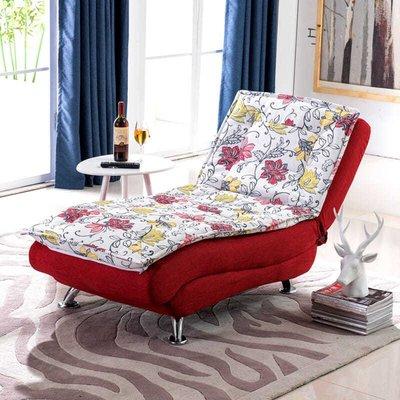 懶人沙發單人貴妃躺椅多功能客廳美容院會所折疊沙發床休閑午休椅
