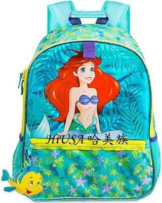 哈美族 美國 Disney 迪士尼商店 17年款 人魚公主 小美人魚 艾利兒 書包/背包