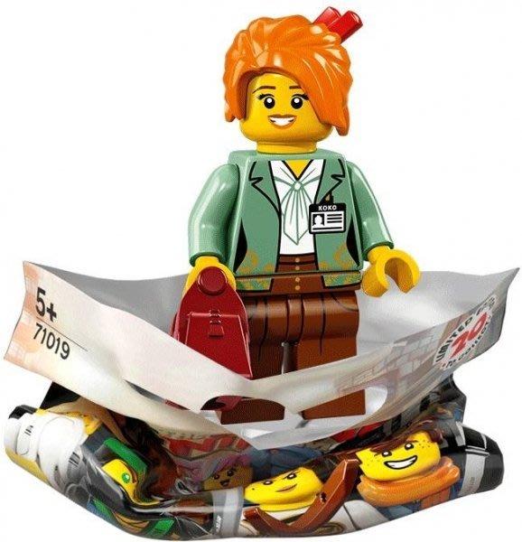 現貨【LEGO 樂高】積木/ Minifigures人偶包系列 忍者電影 71019   #9 美沙子 Misako
