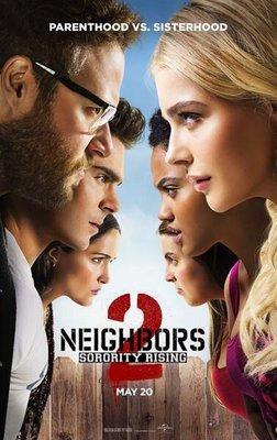 【藍光電影】鄰居大戰2:姐妹會崛起 惡鄰居2/惡鄰纏身2 Neighbors 2:Sorority Rising (2016) 95-055