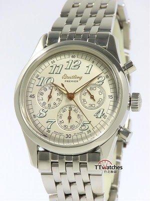 台北腕錶 Breitling 百年靈 Navitimer Premier  A40035 計時碼錶  118158