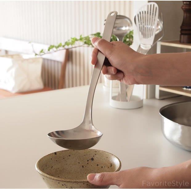 發現花園 日本選物~日本製 柳宗理 Sori Yanagi 不鏽鋼 湯杓 大湯匙 ~ L號