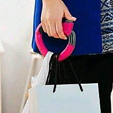 $24購/2個 [D型省力手挽提袋器] 一次能提起3-5個膠袋,Shopping便更省力方便,D型設計,更貼合手型