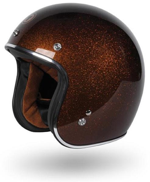 (I LOVE樂多)美牌TORC T50 ROOT BEER 啤酒棕 亮粉漆 4/3安全帽