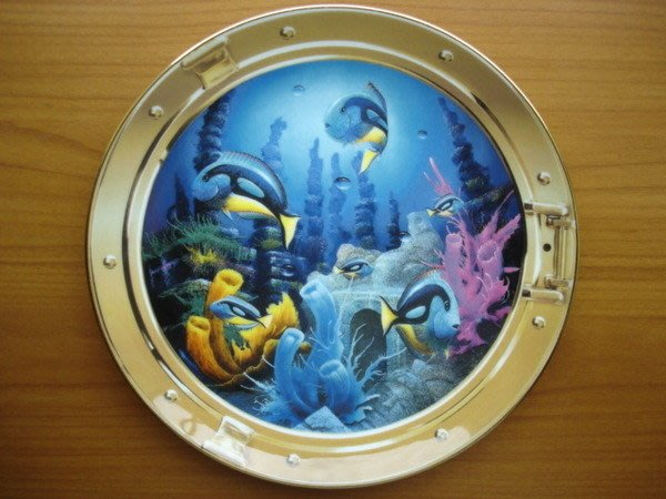 [美]英國百年名瓷大廠Royal Doulton約1990年代骨瓷裝飾盤Relics of the Deep值得收藏