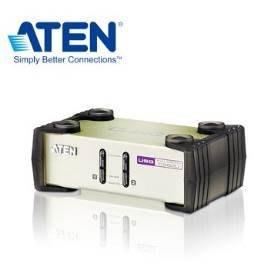 ATEN 2埠 PS 2 USB KVM 多電腦切換器  CS82U