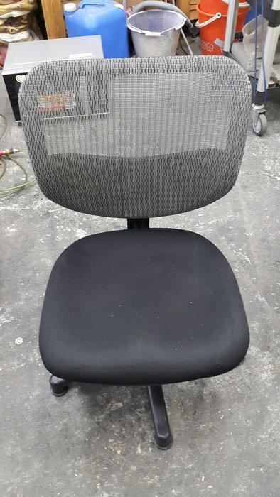 樂居二手家具 F119EJ 灰黑辦公網椅(無輪) OA椅 辦公椅 電腦椅 會議桌椅 辦公桌椅 【全新中古傢俱家電賣場】