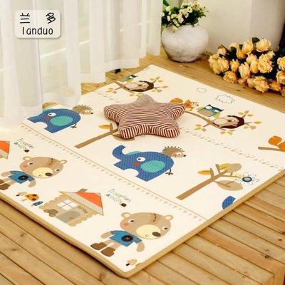 遊戲墊 寶寶爬行墊XPE加厚2cm環保嬰兒童爬爬墊客廳家用無味泡沫游戲地墊 MKS