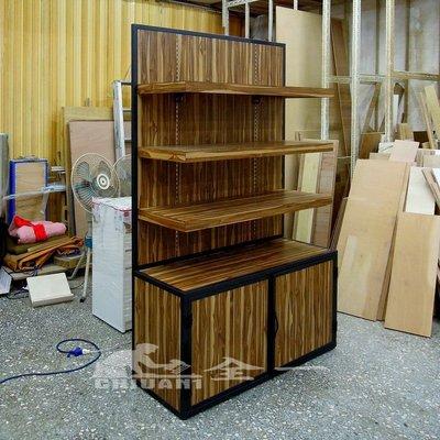 工業風展示櫃 全一 玻璃展示櫃 展示櫃...