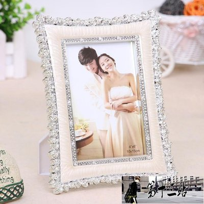 相框 復古經典歐式婚紗影樓小玫瑰花擺台...