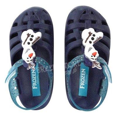 GRENDENE 迪士尼派對 Disney Buddies 雪寶兒童布希鞋 暗藍/藍.巴西集品