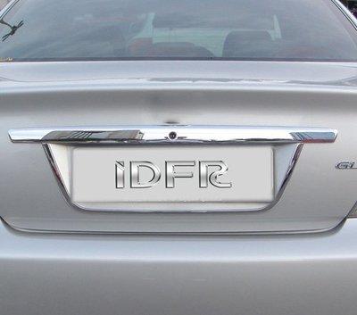 圓夢工廠 Toyota Camry 5代 2001~2004 改裝 鍍鉻銀 後車箱 牌照飾框 後牌照框 飾貼