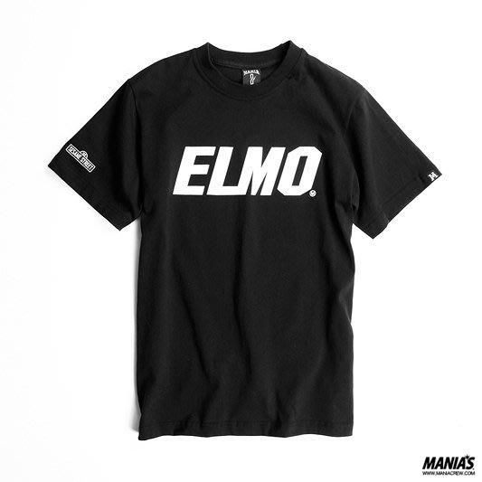 全新正品 絕版 MANIA 09 AW ELMO Tee 第一彈 黑色 短Tee S號 附紙袋