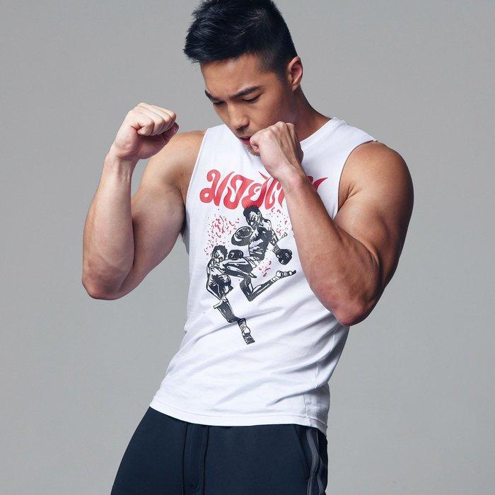 【OTOKO Men's Boutique】固制:泰拳搏擊裸袖背心(台灣獨家代理)