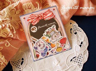~Favorite Manor~Victoria和 Verden野餐趣 貼紙包