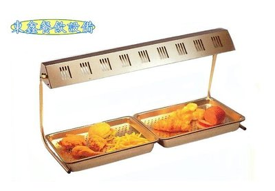~~東鑫餐飲設備~~HY-568 雙管紅外線保溫燈 / 熱食保溫台 / 保溫展示櫃 / 保溫箱 / 電熱式展示保溫燈
