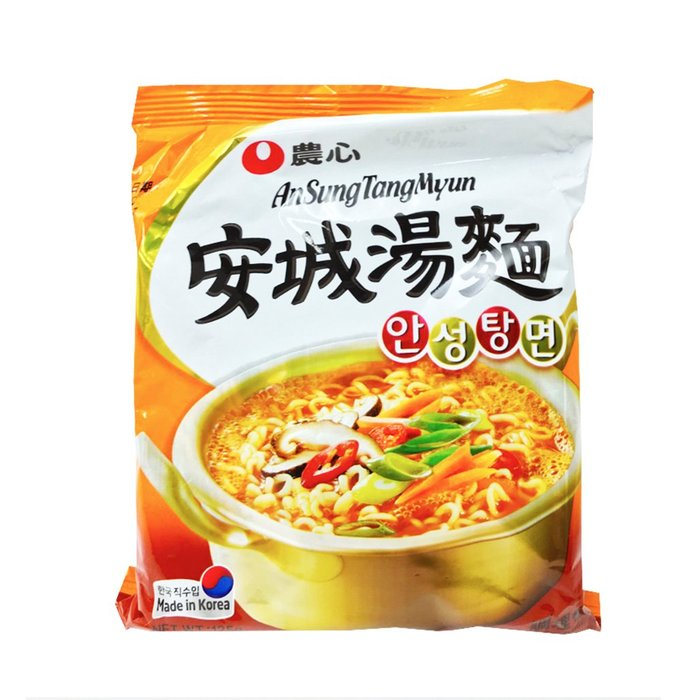 韓國 農心 安城湯麵 單包 125g