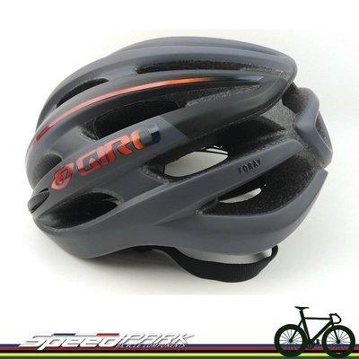 【速度公園】Giro 美國品牌 Foray 輕量安全帽 21孔『消光紅黑漸層』/登山車 公路車 折疊車 單速車