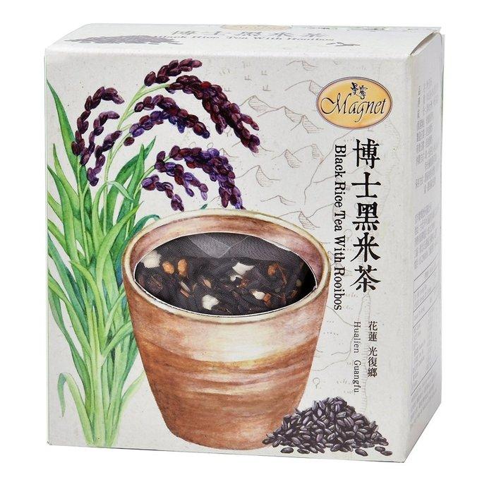 ~*品味人生 *~ 曼寧 台灣博士黑米茶 7gx15入