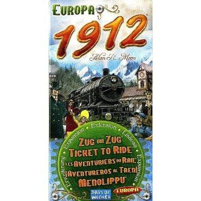 ☆快樂小屋☆ 鐵道任務:歐洲1912擴充 Ticket to Ride: Europa 1912 英文版 正版 台中桌遊