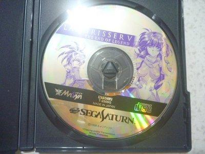 【~嘟嘟電玩屋~】SEGA SATURN 日版光碟 ~ 夢幻模擬戰5 LANGRISSER  V(註)