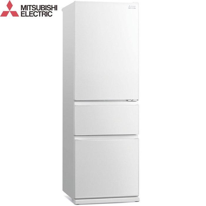 ☎【來電享便宜】現折2000【Mitsubishi 三菱】365L 3門 變頻電冰箱 MR-CGX37EN 含運 泰國製