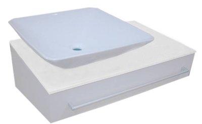 [大台北宅急修] 卡爾防水陶瓷浴櫃組BL 70CM『新竹以北免運費』 新北市