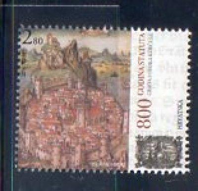 古蹟與古堡建築物類-克羅埃西亞郵票-2014年- KORCULA建城800周年紀念-1全