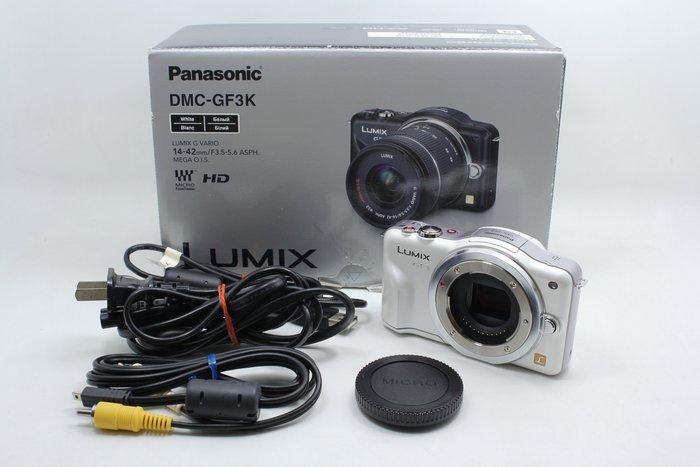 【台南橙市3C】 Panasonic Lumix DMC GF3 單機身 單眼 相機 GF3 # 09353