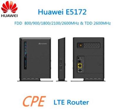 華為 E5172s-22 送天線 含電話接孔 4G WiFi分享器 B315s-607 B310as-852 MF253