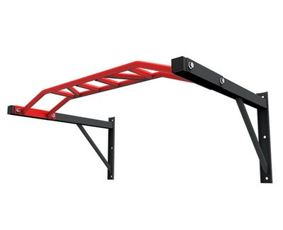 【Fitek 健身網】多角度握把單槓 /健身房綜合單槓 /壁掛式單槓 /TRX、彈力帶、倒吊鞋、單槓吊帶都可配合使用