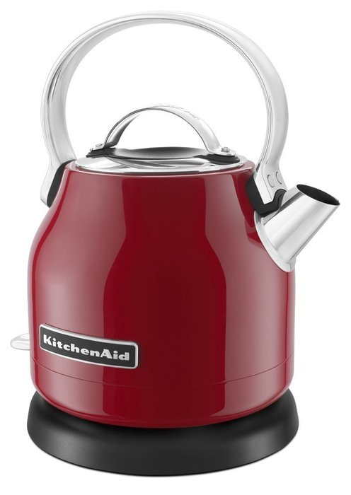 【Sunny Buy 生活館】Kitchenaid 小型電水壺(紅) KEK1222 熱水壺 不鏽鋼 快煮壺