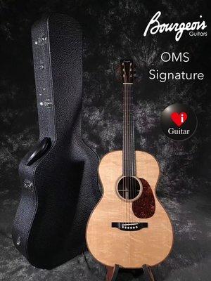 Bourgeois Custom  OMS DB Signature  Sitka Spruce/Ziricote