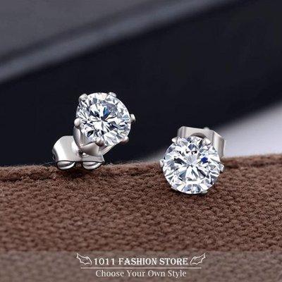 一對230元 型男 基本必備款 韓國 西德鋼耳環 鈦鋼耳環 男性耳環 女性耳環 水鑚耳環 耳釦 耳釘