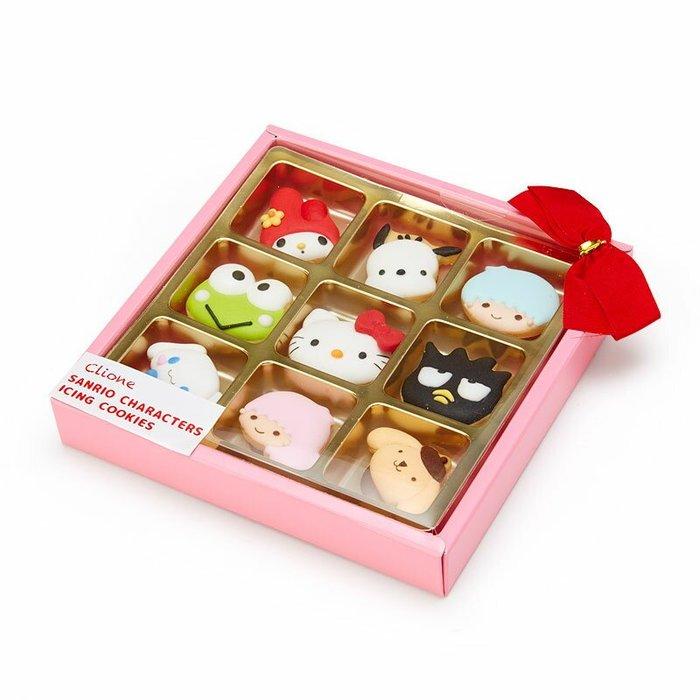 41+現貨不必等 日本製 Sanrio 角色 糖霜餅乾 禮盒 @my4165 小日尼三 日本帶回 雙子星 大眼蛙 酷企鵝
