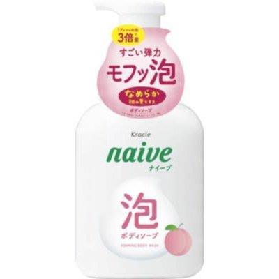 微笑馬卡龍好貨專賣 日本Kracie 娜艾菩沐浴泡泡 保濕桃葉N-500ml naive