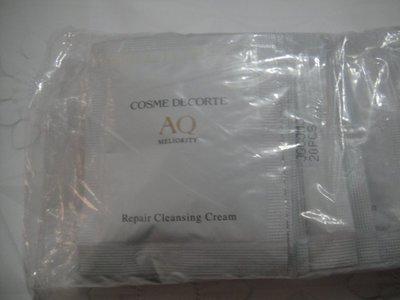 全新COSME DECORTE 黛珂 AQ完美精質卸妝霜3g  現貨300包  AQ完美精質卸粧霜