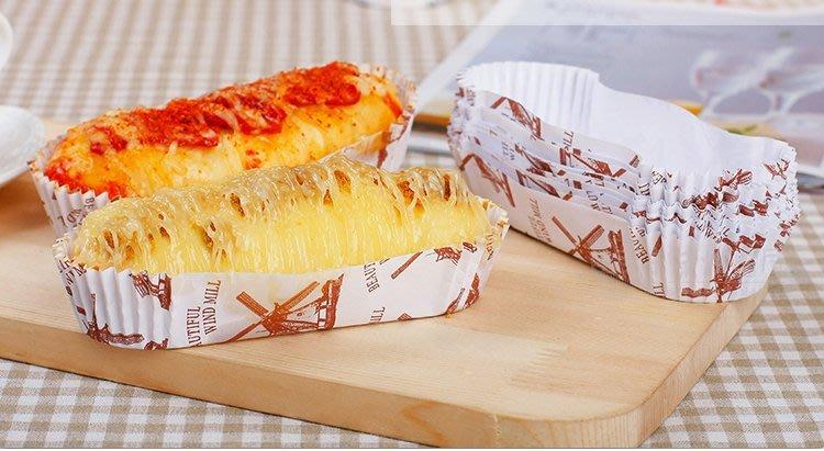 Amy烘焙網:圓形/橄欖型/經典款風車台式甜麵包托/耐高溫淋模麵包托/點心內托/防油 200入
