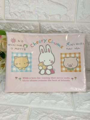 sanrio  Cheery Chums凱莉兔化妝包 收納包 312119