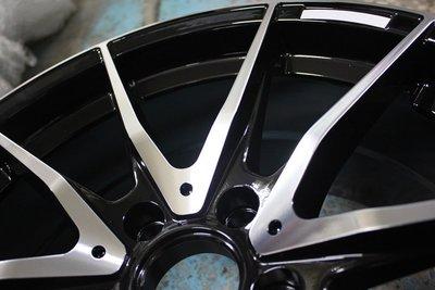 新款 類AMG 18吋 鋁圈 黑底車亮面 5X112 前後配 鋁圈 BENZ