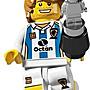 LEGO 樂高 Soccer player 足球員 人偶包第4代 8804