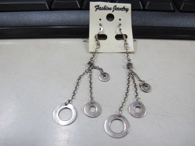 二手舖 NO.4483 時尚造型耳環 耳針 耳鉤 便宜賣 首飾飾品